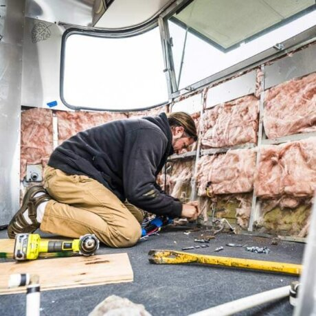 Insulating your custom Airstream for a quiet ride
