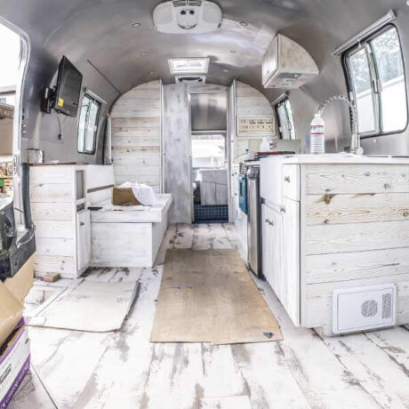 Crafting the Airstream Interior of your dreams