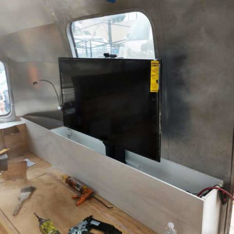 Installing upgrade - like this new television