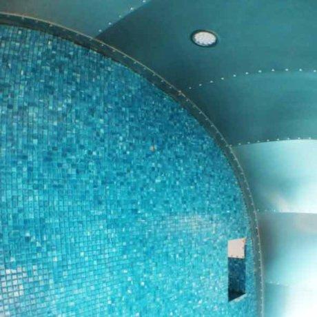 Amazing Blue Bathroom Restoration